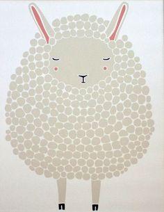 Grey Sheep Print