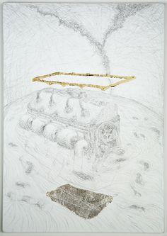 Exposition Dessins de Matthew Barney - BnF - Bibliothèque nationale de France – site François-Mitterrand (Paris)