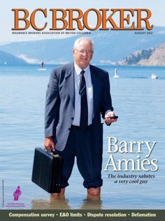 Since 1978, BC Broker magazine has been informing and connecting people in the property and casualty insurance industry in B.C. BC Broker is the primary publication of the Insurance Brokers Association of BC, providing timely information to the 9,000 licensees working in more than 825 IBABC-member brokerages throughout the province. In addition, BC Broker is followed by professionals in insurance companies and the industry's allied trades in B.C. and across Canada. Casualty Insurance, Insurance Broker, Insurance Companies, The Province, Suit Jacket, Industrial, Canada, Magazine, People