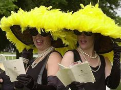 Nothing brings a smile to my face more than seeing each year the ladies from Royal Ascot wearing the marvels of millinery. As we await the ...
