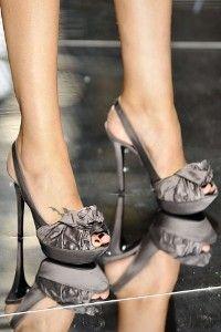Paris Runway Shoes Roundup: Elegant Boredom. | Shop | Kaboodle