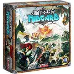 Champions of Midgard - Lightweight for a worker placement game, but sooooo much fun. I do like this much more than Lords of Waterdeep, plus the viking-ish theme is much more appealing to me. I give this a high rating.