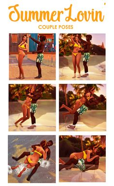 sim-bubble: Summer Lovin' Posepack My first ever couple. - The Sims 4 CC - Mod Sims Free Custom Contents or Mods for The Sims Games The Sims 4 Pc, My Sims, Sims Cc, Sims 4 Couple Poses, Couple Posing, Couple Games, Sims 4 Family, Summer Poses, Sims 4 Characters