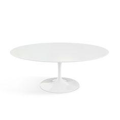 "Work Room Table: Saarinen Coffee Table - 42"" Oval | Knoll"