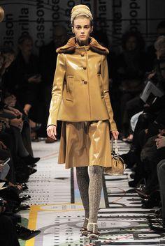 Prada Fall 2010 Ready-to-Wear Fashion Show - Sigrid Agren