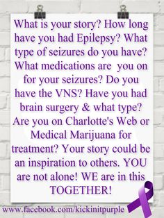 I have had temporal lobe epilepsy since I was 8 due to a brain injury that happened before I was born. I have tried too many medicines to count.  Lamictal is my miracle drug and my seizures are under control for the first time. I am a fighter.