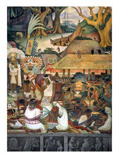 Rivera: Pre-Columbian Life Prints by Diego Rivera at AllPosters.com