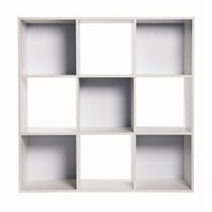 Clever Cube Compact 3 x 3 White Storage Unit