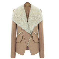 D&YY Women's Wool Warm Slim Fit Coat – USD $ 49.99
