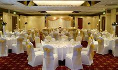 Croydon Park Hotel - Surrey Wedding Venue Caoacity up to 200 guests Wedding Set Up, Croydon, Park Hotel, Surrey, Wedding Venues, Restaurant, Ceiling Lights, Weddings, Wedding Reception Venues