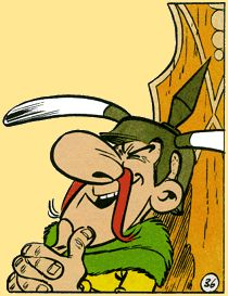 Asterix - The A to Z of Asterix - Characters - Rhetoric