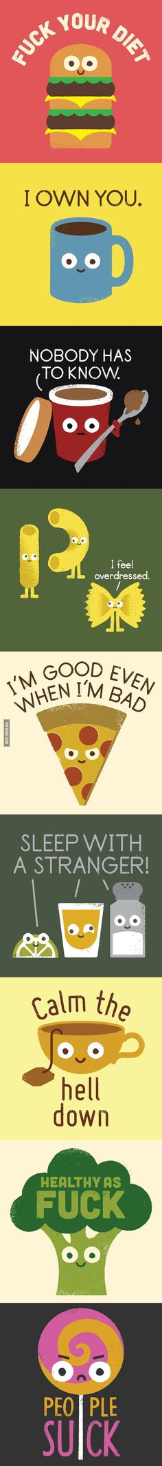 What food would say if it could talk