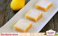 Cortaditos o barritas de limón - Los postres de limón, por norma general, me resultan refrescantes en esta época del año. Este que os traigo hoy es fácil de elaborar y mucho mas fácil de comer. Se conoce como Lemon Bars, lo que podríamos traducir como cortaditos o barritas de limón. Las barritas de limón se componen de dos cap... - http://www.lasrecetascocina.com/cortaditos-o-barritas-de-limon/
