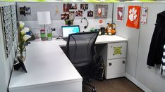 Office Chic: Cubicle Decor