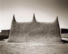 "celia-hannes: "" Adobe mosque of Wango in the Inner Niger Delta (Mali) © Sebastian Schutyser """