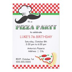 How to Pizza Party Invitation In our offer link above you will see
