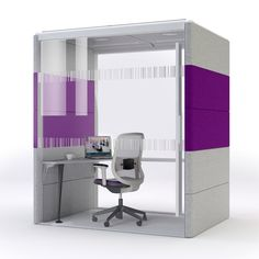 Orangebox Minipod - 20 is the smallest room available in the Room System giving single person privacy with optional table. Find Minipod on Apres Furniture. Open Space Office, Office Spaces, Office Pods, Mini Office, Office Environment, Freedom Design, Sound Proofing, Business Design, Office Furniture
