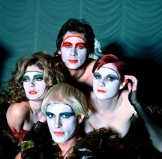 Les Beehive – Rocky Horror Picture Show character portraits by Mick Rock