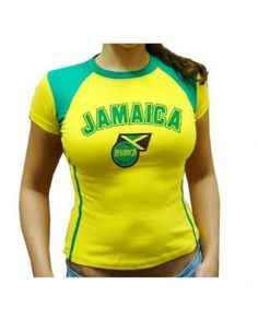 Jamaican Color Swimsuits | SEXY STRETCH FIT LADIES,WOMEN,GIRLS Soccer Jersey, Jamaican Futbol ...