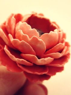 http://www.treeoflove.cz/ custom hand made flower ring made to order by @Helena ~ Treeoflove