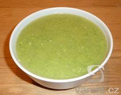 Moc dobrá a rychlá polévka, k jejíž přípravě je potřeba mixér.