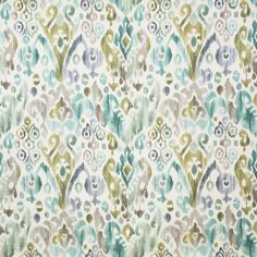 Pindler Fabric P6012 BAMPURA - WATERFALL trade.pindler.com Victorian Chair, Mindanao, Chair Fabric, Waterfall, Dining Room, Quilts, Blanket, Rugs, Ideas