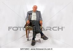 old man arm chair laughing - Google Search
