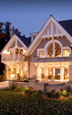 Cute cottage style. Shingled houses...Luxury Homes ~Wealth and Luxury ~Grand Mansions, Castles, Dream Homes & Luxury homes by adrian
