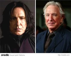Alan Rickman (Severus Snape)