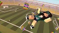 Resultado de imagem para futebol minecraft