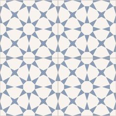 Colour:Blue & White Material:Porcelain Finish:Matt Size (cm):22.5cm x 22.5cm Thickness (mm):9mm Suitability:Wall & Floor Slip Rating: R10 N°of Tiles per Square Metre (m2):19.75 Tiles Availability:In Stock Garden Tiles, Garden Floor, White Bathroom Tiles, Bathroom Floor Tiles, Blue Bathrooms, Floor Patterns, Tile Patterns, Tiles Direct, Geometric Tiles