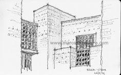 Arquitetura e Desenho: Desenhos de viagem - Lisboa