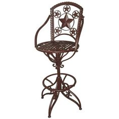 Vintage Black Wire Vanity Stool Chair And Stools