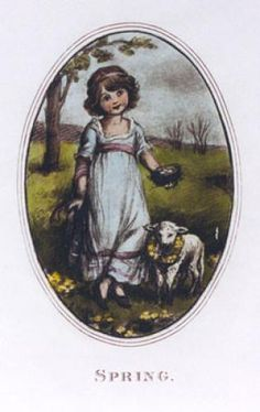 Spring - Hope (Restrike Etching) by Robert Hope - art print from King & McGaw