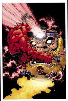 Hulk 21 cover by *EdMcGuinness on deviantART