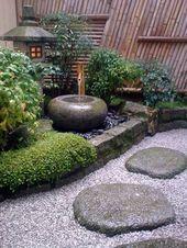 Garden Types Erstellen Sie kleine japanische Gartentipps und schöne Designideen in Bildern  Garten Design #garden #gardentypes #gardening #yard