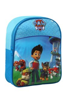 Mochila Patrulla Canina™: Esta mochila tiene licencia oficialPatrulla Canina™.Es azul con los personajes de laPatrulla Canina™.Mide…