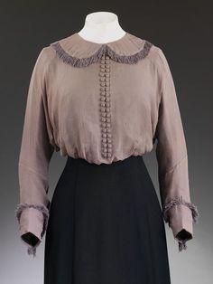 Znalezione obrazy dla zapytania 1910 blouse