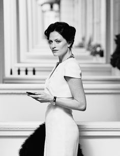 I was surprised by how much I loved Irene Adler in Sherlock. And her dress here is ah-mazing.