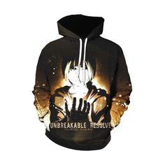 Bleach Hoodie, Fullmetal Alchemist, Graphic Sweatshirt, T Shirt, Hoodies, Sweatshirts, Gloves, Pullover, Unisex