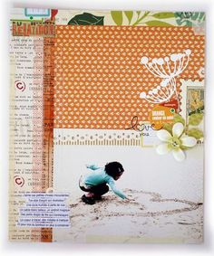 scrapbook page inspiration