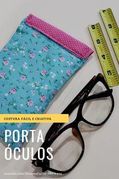 ed4d27e28 9 melhores imagens de Estojo para óculos | Sewing crafts, Wallets e ...