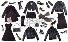ropa negra para las mujeres