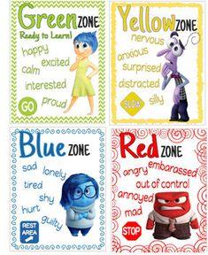 Emotions Preschool, Teaching Emotions, Emotions Activities, Therapy Activities, Activities For Kids, Feelings Chart, Feelings And Emotions, Inside Out Emotions, Inside Out Characters