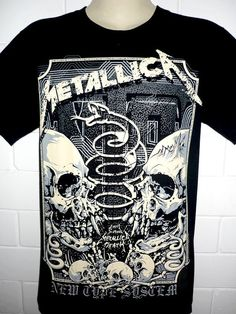 Hey, I found this really awesome Etsy listing at http://www.etsy.com/listing/180580909/metallica-snake-skull-rock-metal-band