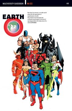 DC's New Multiverse: A few Earth's worth noting - The Marvel/DC Co-Fan Club Marvel Dc Comics, Dc Comics Superheroes, Dc Comics Characters, Dc Comics Art, Comic Books Art, Comic Art, Geeks, Comics Und Cartoons, Hq Dc