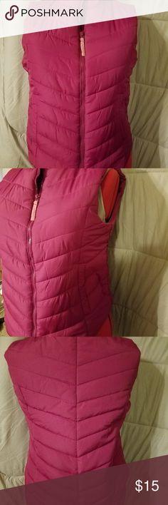 Aeropostle xl pink women's vest Aeropostle pick women's xl vest Jackets & Coats Vests