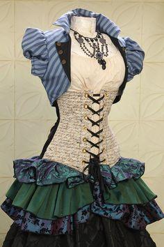 steampunksteampunk: Damsel in this dress