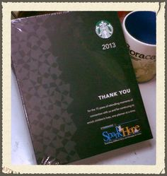 82e2ec8030 I just gave out a 2013 Starbucks Planner away in my blog contest! Starbucks  Planner