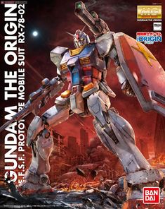 RX-78-02 Gundam (GUNDAM THE ORIGIN Ver.) (MG) (Gundam Model Kits) Package1
